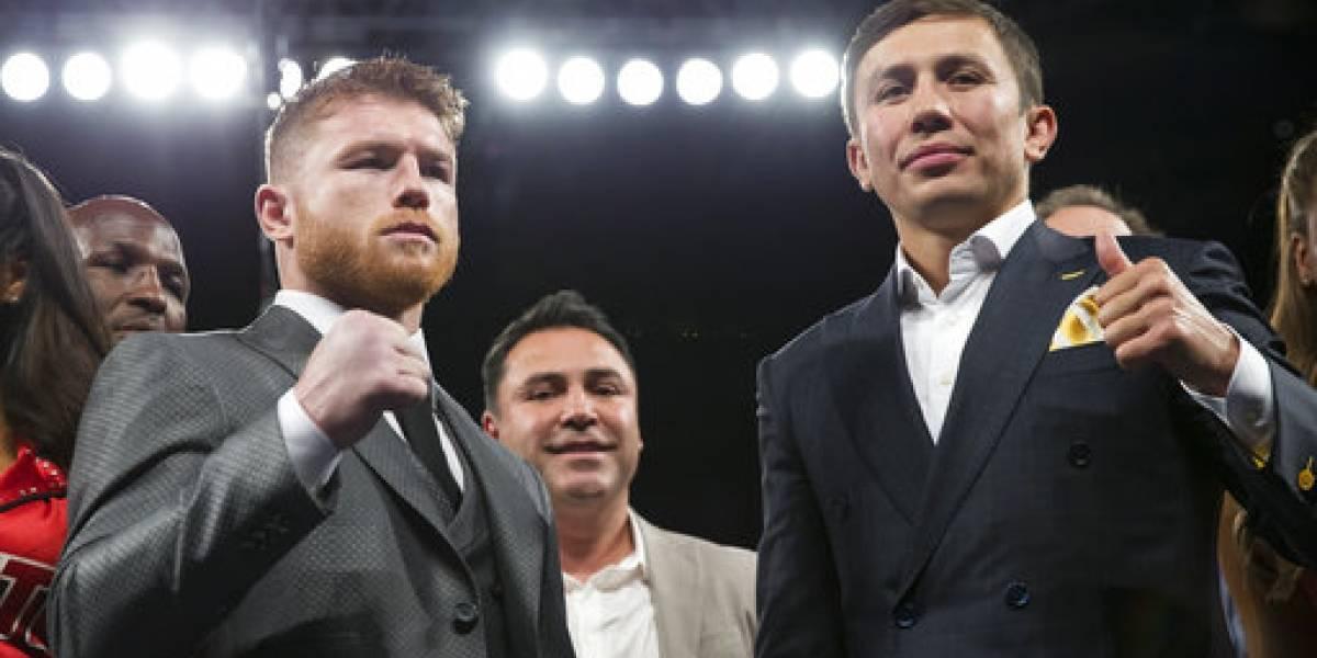 Encuentro entre Golovkin vs. Canelo Álvarez será en Las Vegas