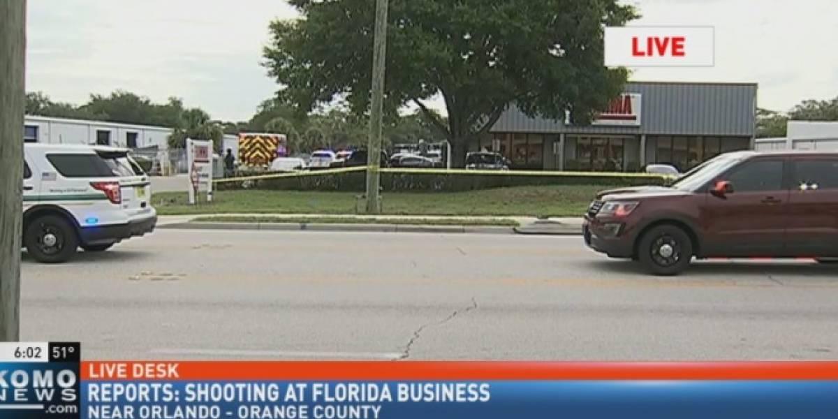 Cinco muertos en un tiroteo en un edificio de oficinas de Orlando