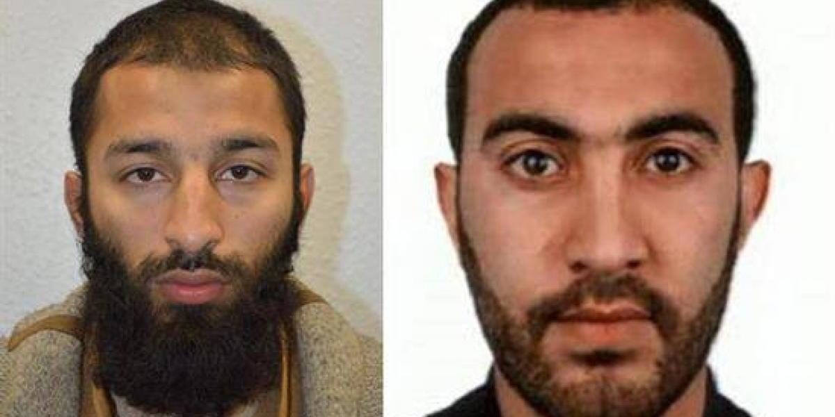 Identifican a dos de los terroristas del ataque en Londres