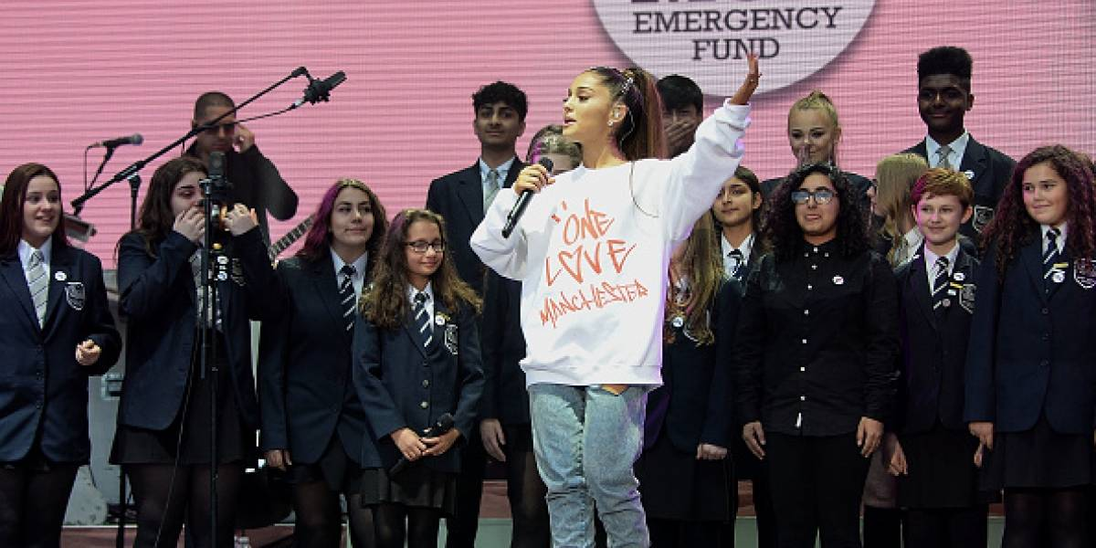 Ariana Grande logra recaudar millonaria cantidad para las víctimas de Manchester