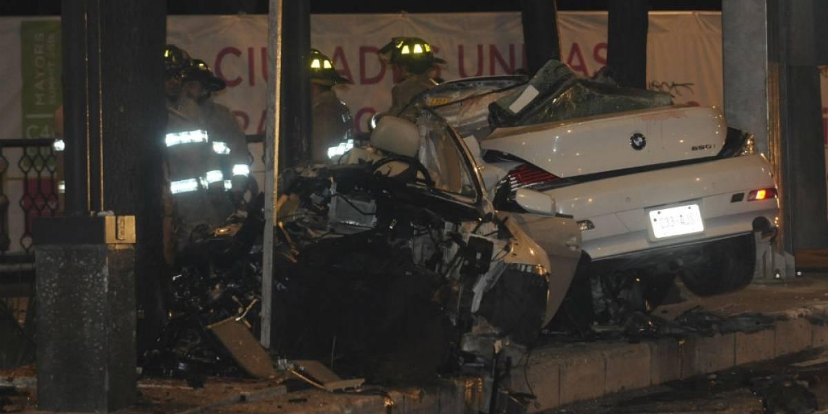 Víctimas de choque del BMW ingirieron bebidas adulteradas, revela nueva necropsia