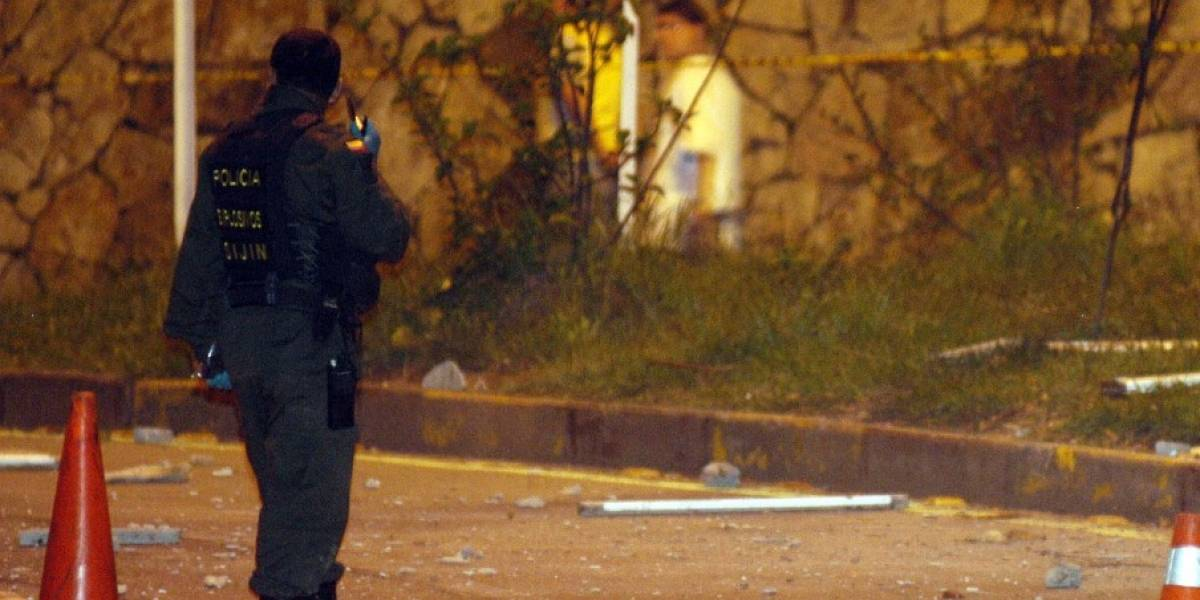 Tiroteo en supermercado de Bogotá deja un policía herido