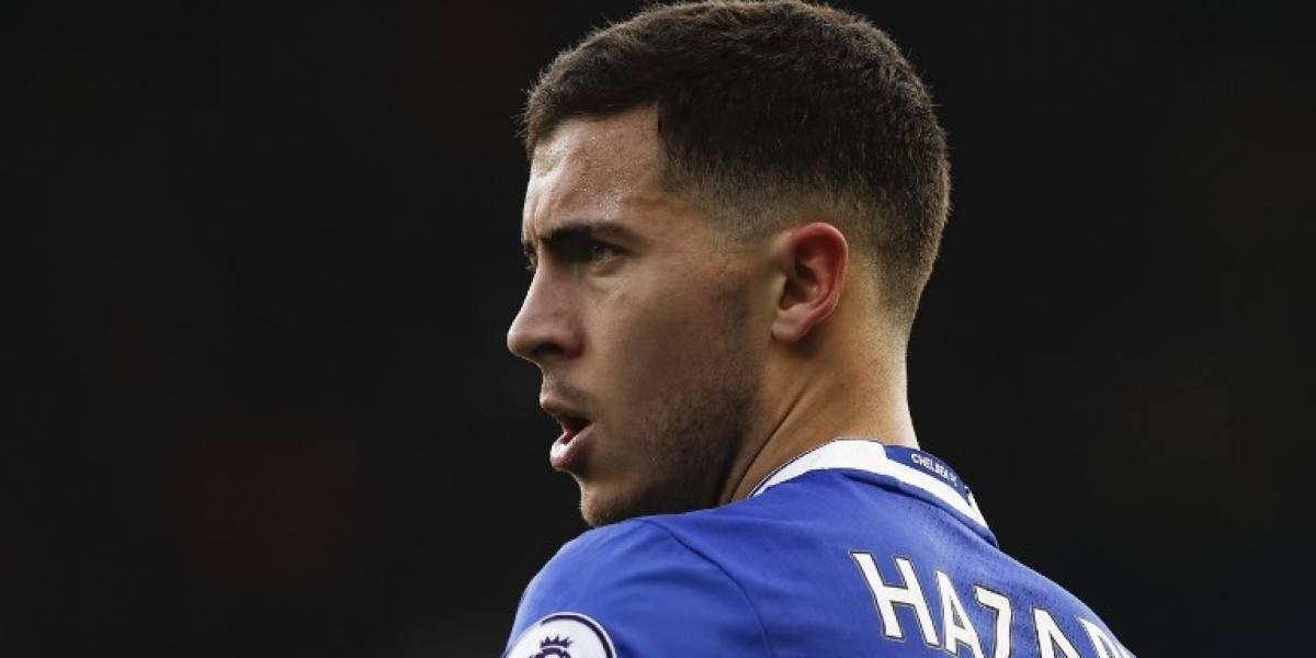 Preocupación en el Chelsea por la lesión de Eden Hazard