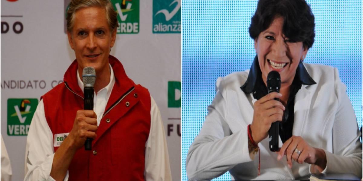 #Confidencial: ¿Empate técnico entre Del Mazo y Delfina?