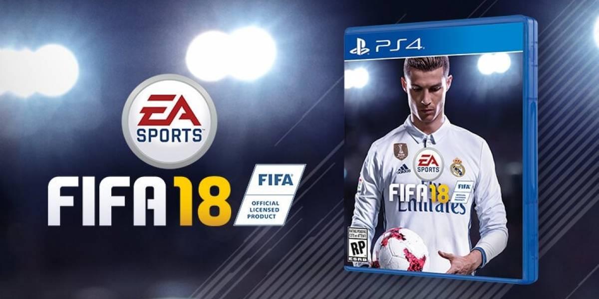 Cristiano Ronaldo sigue de moda: ahora será la portada del videojuego FIFA 18