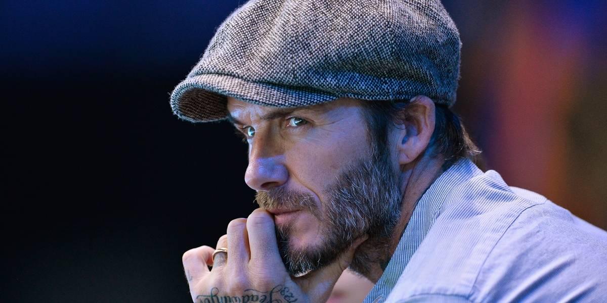 David Beckham vai lançar linha de cosméticos para homens