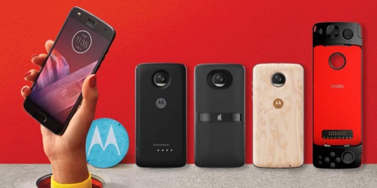 Nuevo modelo Moto Z2 Play puedeconvertir tu teléfono en un consola portátil