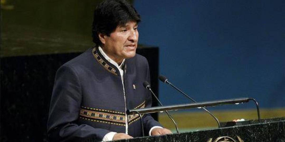 Evo Morales critica en la ONU los perjuicios causados por el paro de Aduanas en Chile
