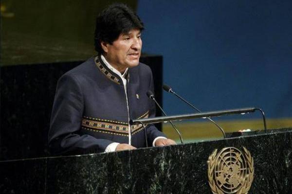 Evo Morales ONU