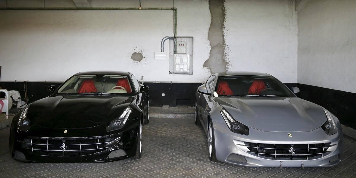 Dos Ferrari del rey de España salen a remate… de nuevo
