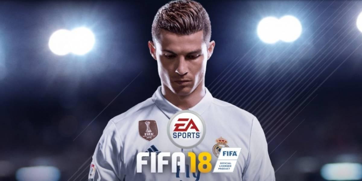 ¡EA Sports revela el primer adelanto del FIFA 18!