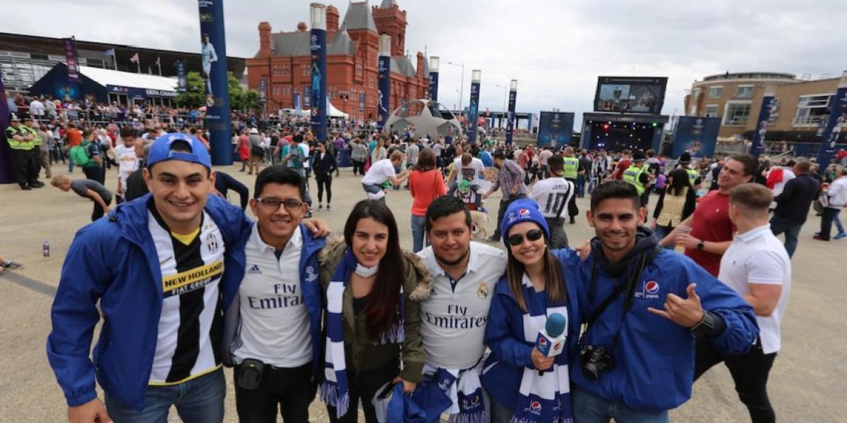 Conoce cómo estos guatemaltecos lograron viajar a la final de la UEFA Champions League