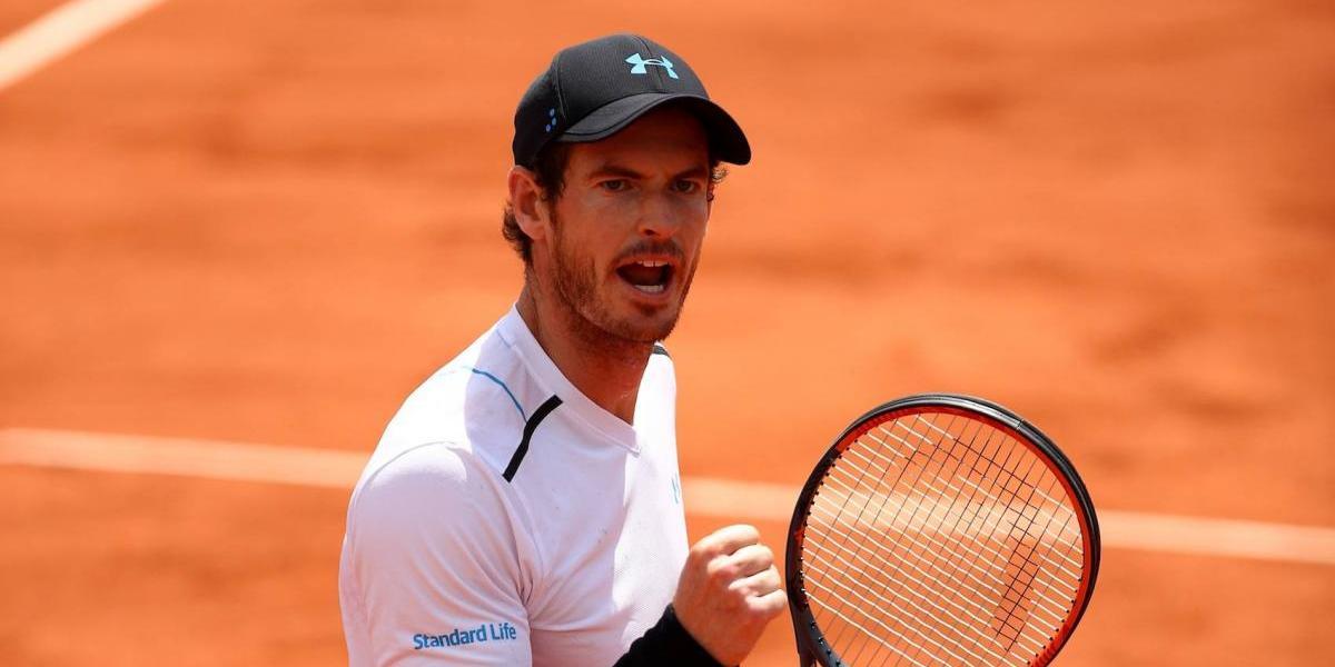 Murray avanza a los Cuartos de Final del Abierto de Francia