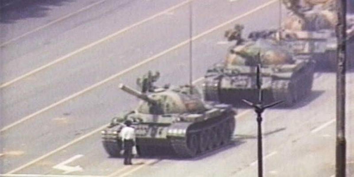 El hombre de Tiananmen: los 28 años de la emblemática imagen en la que manifestante enfrentó al Ejército chino