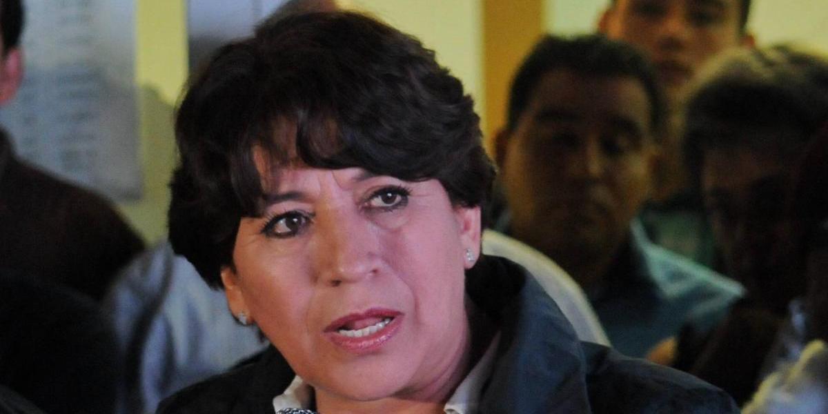 En caso de derrota no habrá toma de calles: Delfina Gómez