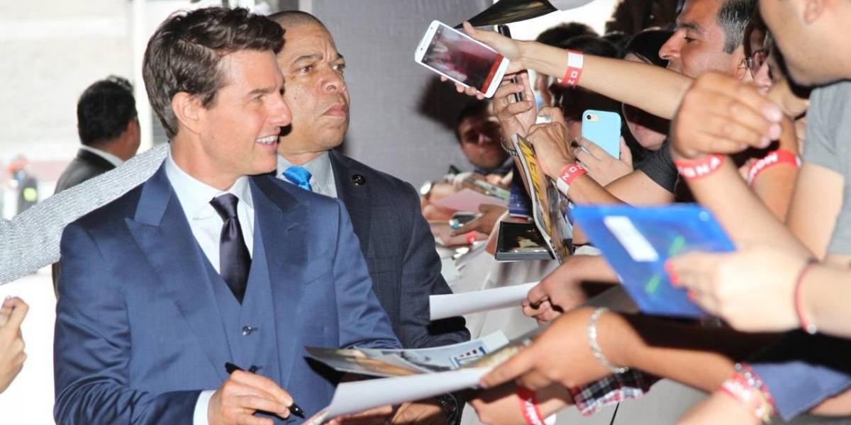 Tom Cruise quiere hacer una película en México