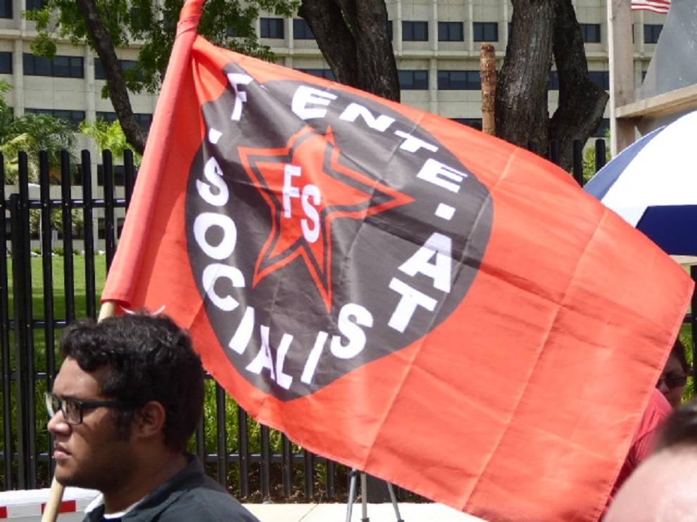 Manifestación Nina Droz