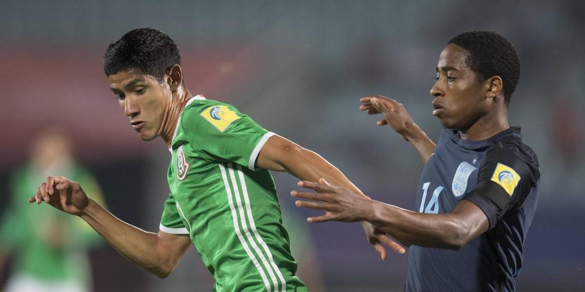 México cae ante Inglaterra y se despide del Mundial Sub20