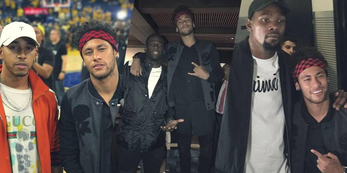 VIDEO. ¿A qué figura de la NBA le regaló Neymar una camisola del Barcelona?