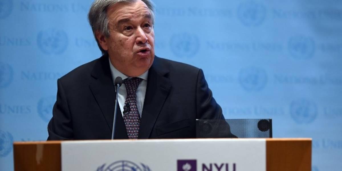 """ONU insta a salvar los océanos y evitar una """"catástrofe mundial"""""""