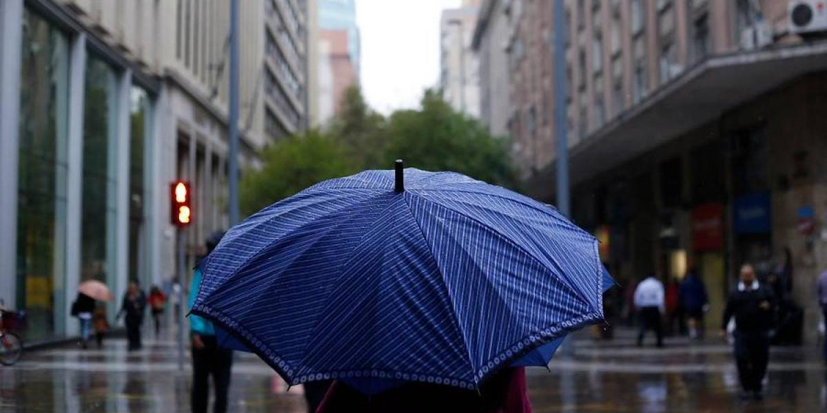 Vuelven las precipitaciones a la zona central con baja intensidad