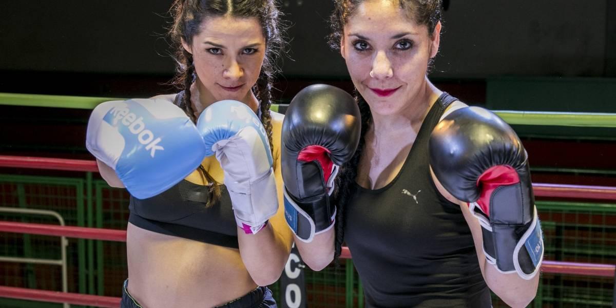 Loreto Aravena se puso los guantes y subió al ring