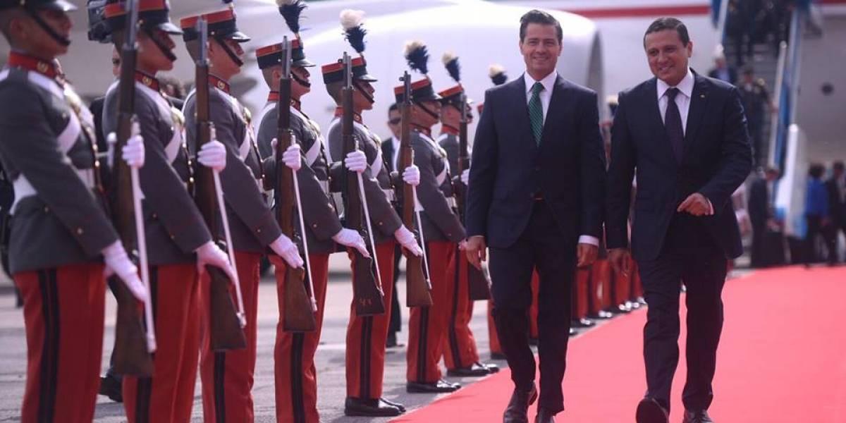 Presidente mexicano llega a Guatemala para discutir sobre seguridad y migración