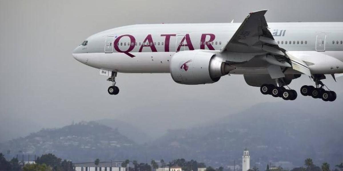 Qatar Airways suspende todos sus vuelos a Arabia Saudí