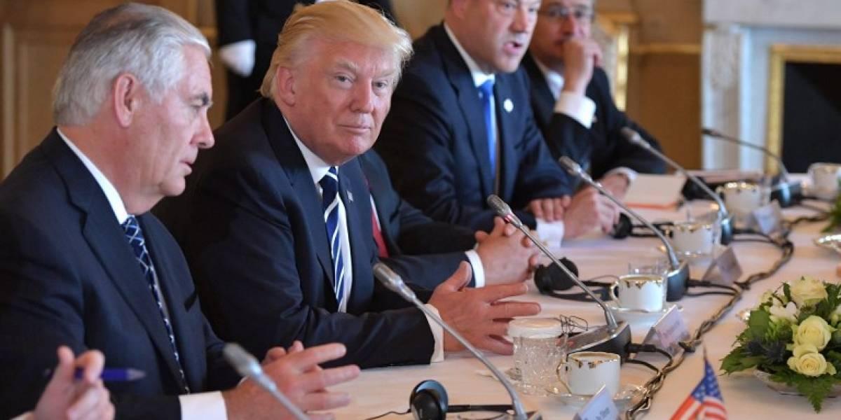 Tillerson: Trump quiere seguir comprometido con el clima