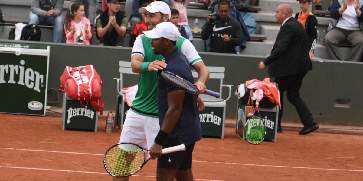Santiago González y Donald Young ya están en semifinales de Roland Garros