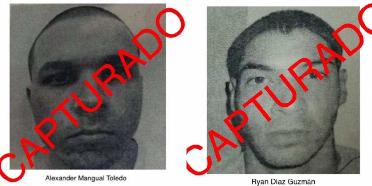 Capturan dos confinados fugados de cárcel en Ponce