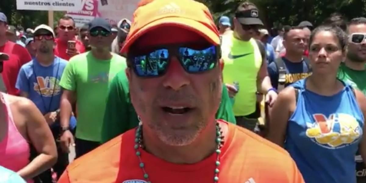 Raymond finaliza su novena caminata Da vida por los pacientes de cáncer