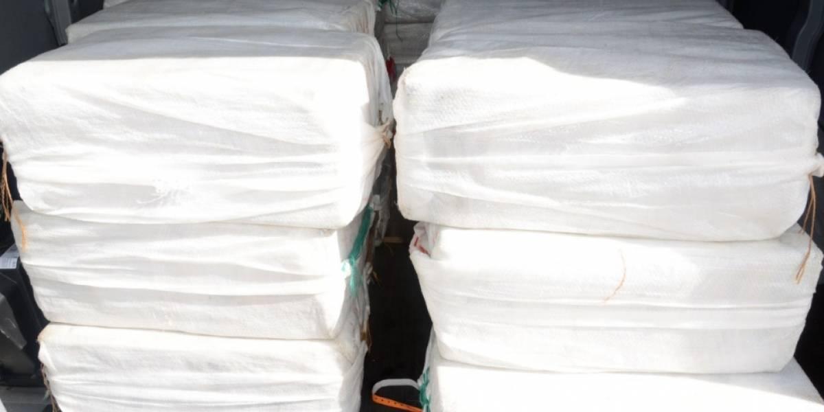 Incautan más de $32,5 millones en cocaína