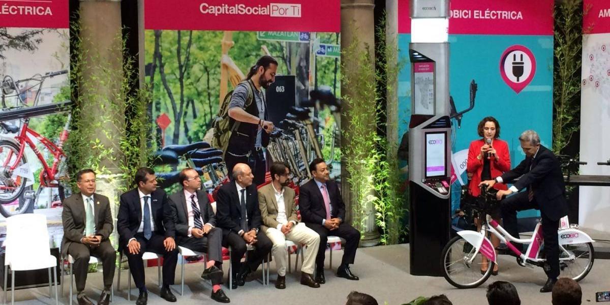 Ecobici tendrá bicicletas eléctricas en septiembre