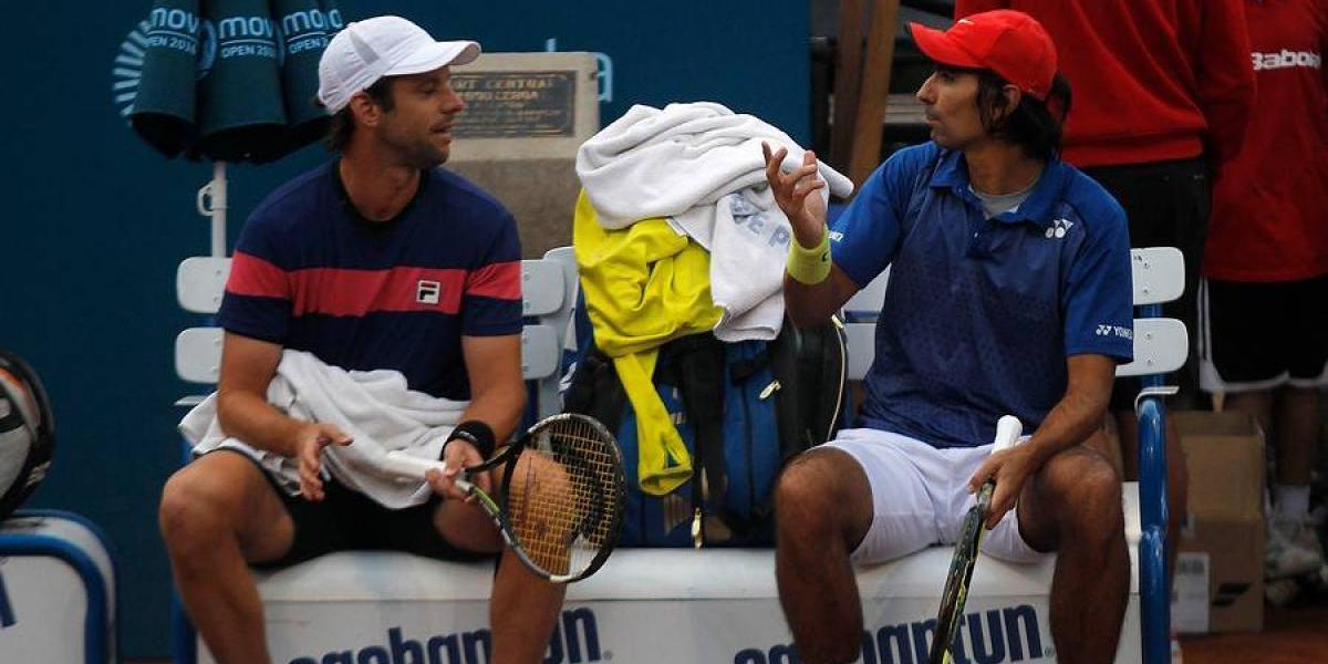 Peralta y Zeballos perdieron tres puntos de partido y dijeron adiós al dobles de Roland Garros