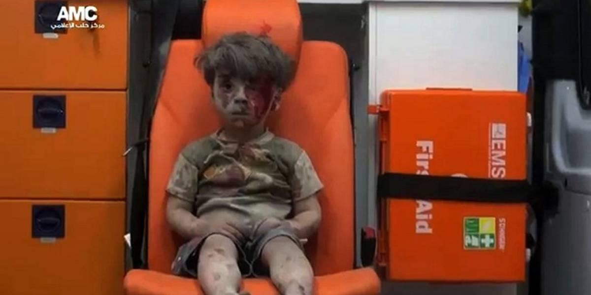 Así está Omran: el niño que se convirtió en símbolo de la cruenta guerra en Siria