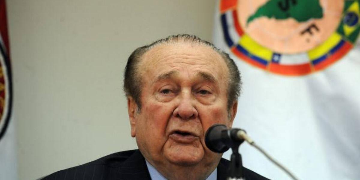 Conmebol denunció a Leoz y Figueredo por lavado de dinero y asociación criminal