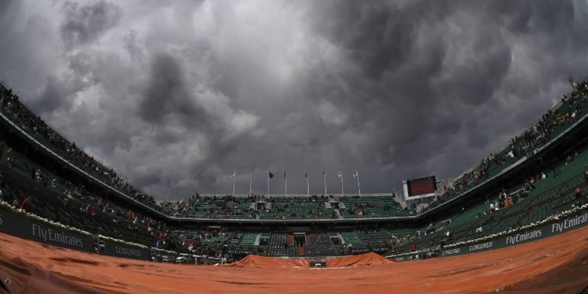 La lluvia aplazó los partidos de Nadal y Djokovic en Roland Garros