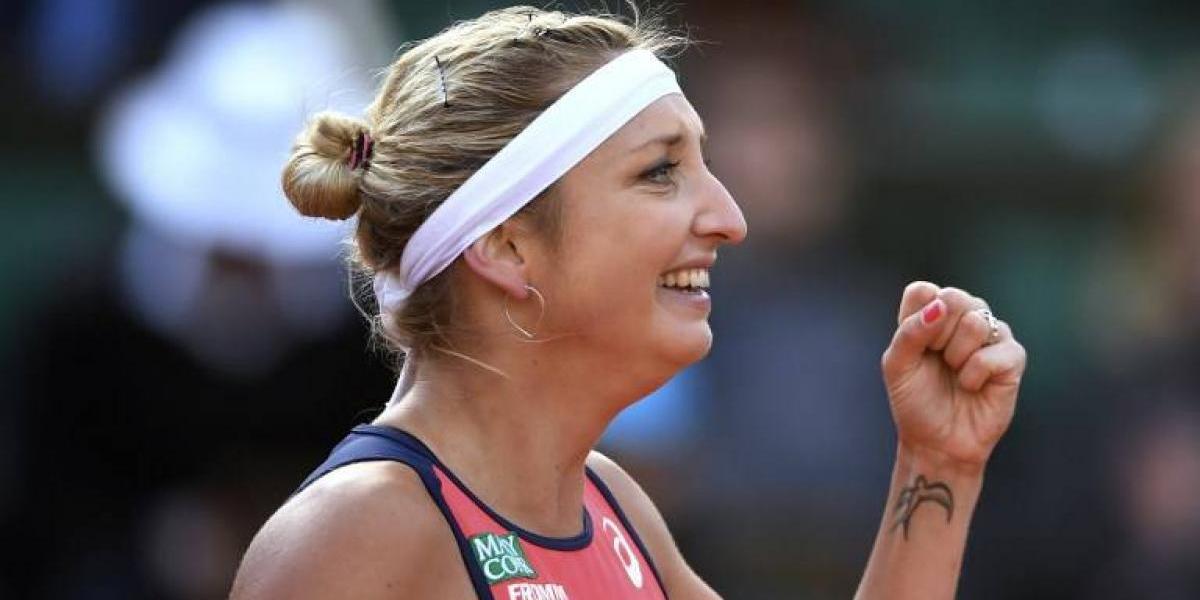 Bacsinszky y Ostapenko definirán a una sorprendente finalista de Roland Garros