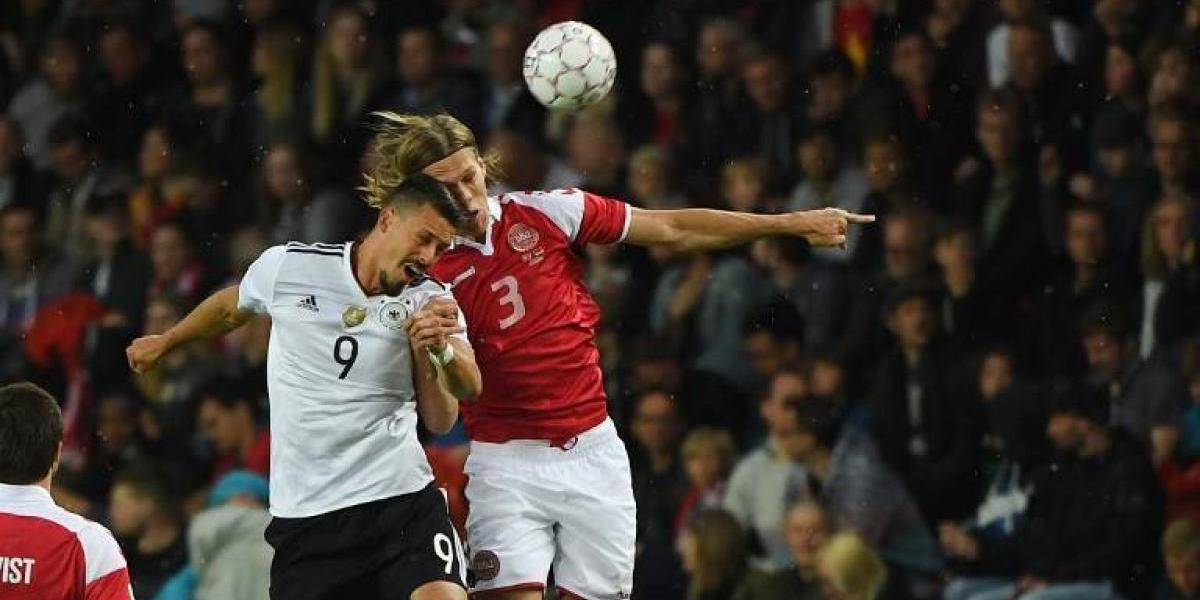 Alemania salva un empate ante Dinamarca con un golazo de chilena