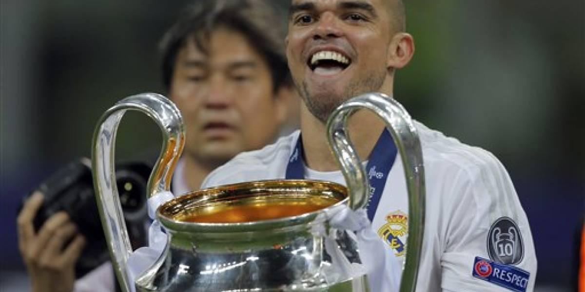 Culmina década de títulos de Pepe con Real Madrid