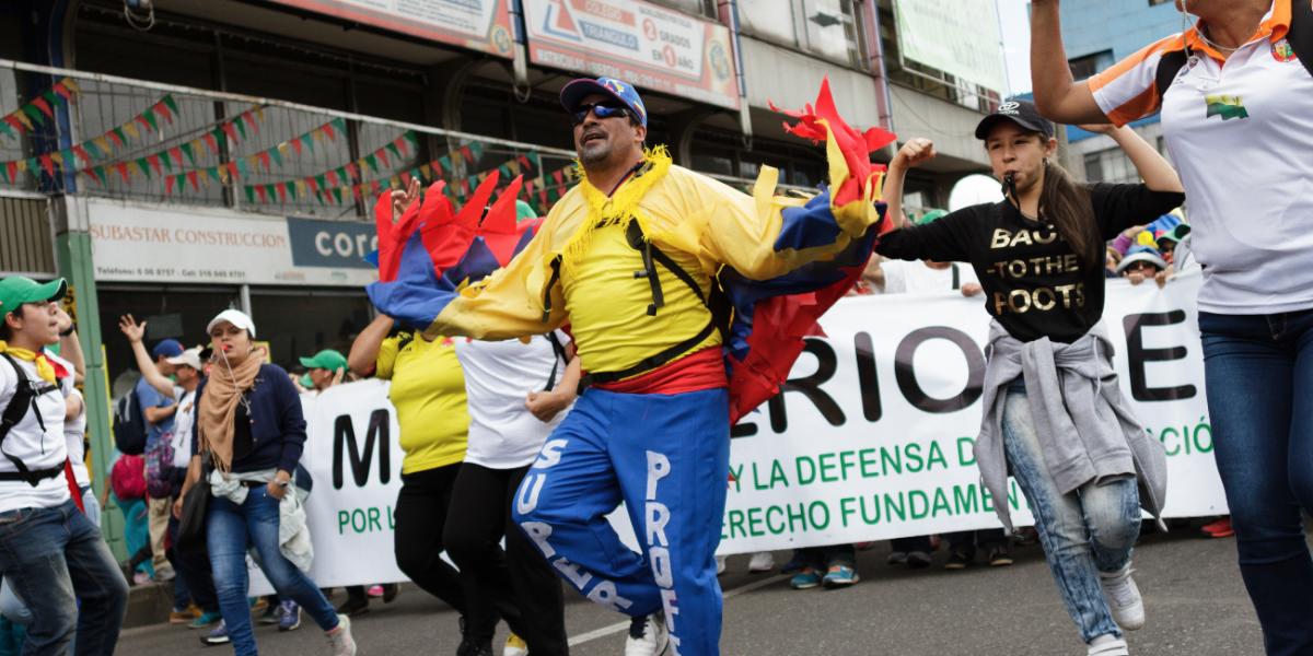 CUT analiza un paro para protestar contra el aumento del salario mínimo