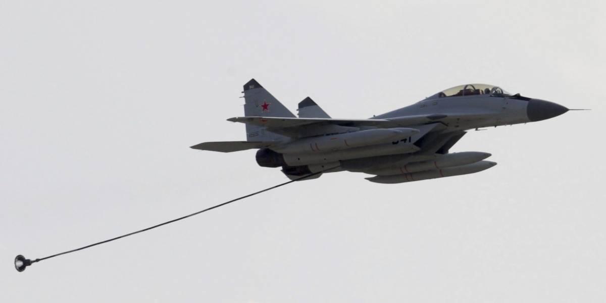 Caza ruso intercepta bombardero estadounidense
