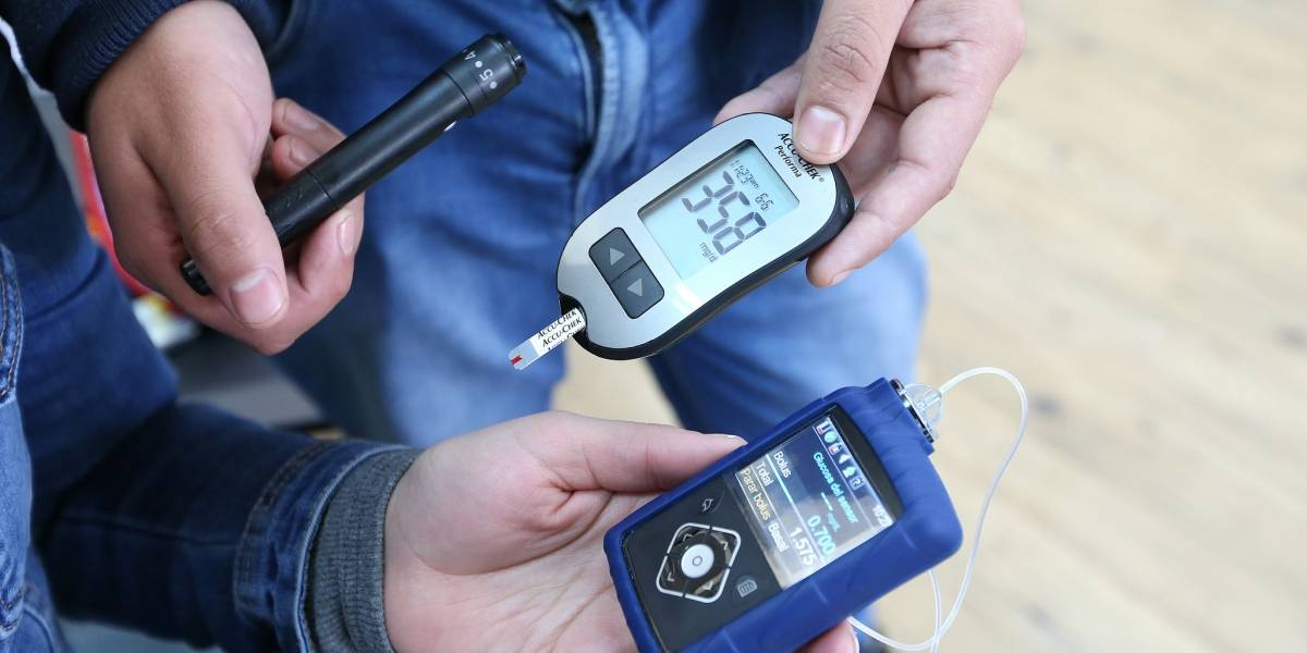Tres niños fueron los primeros en recibir bombas de insulina gracias a la Ley Ricarte Soto