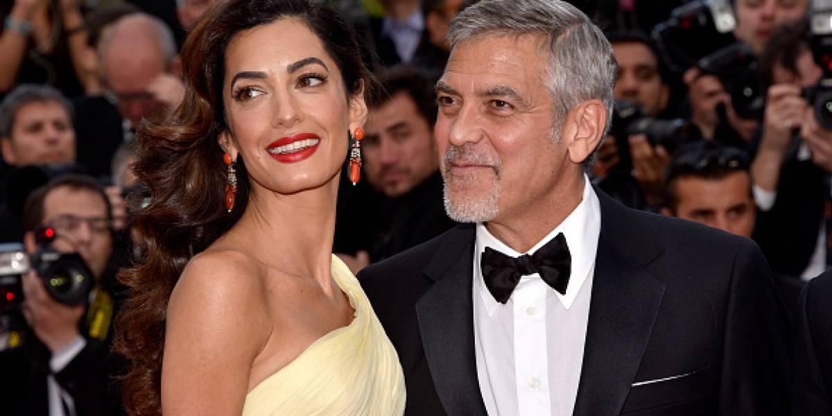 George y Amal Clooney se convirtieron en padres