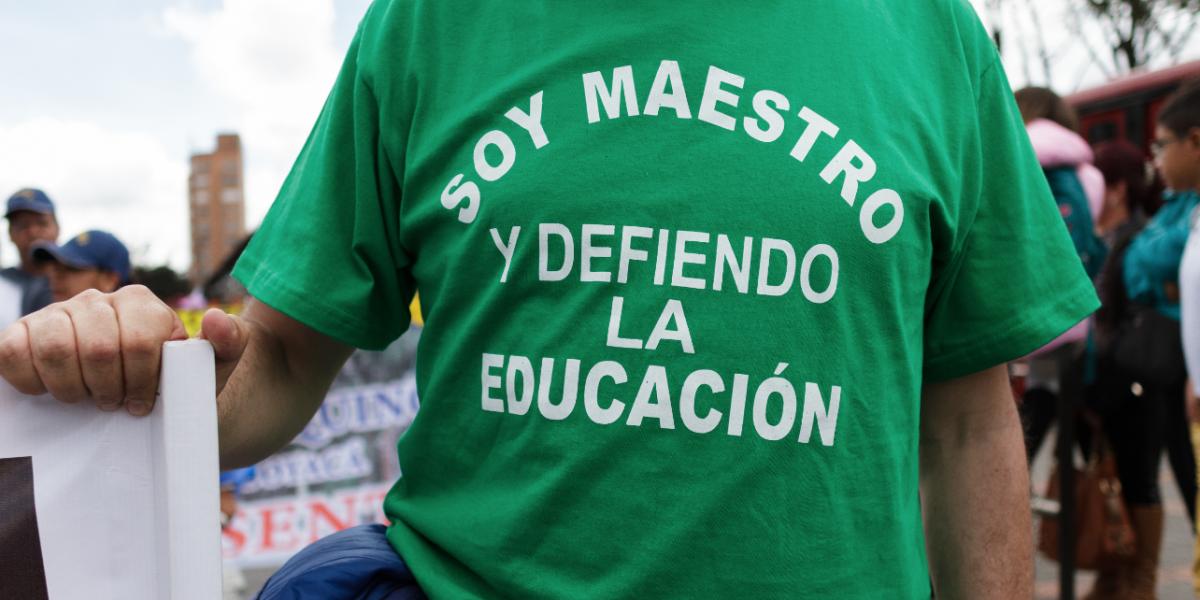 Profesores no se cederán a presiones del Estado y continúan en paro