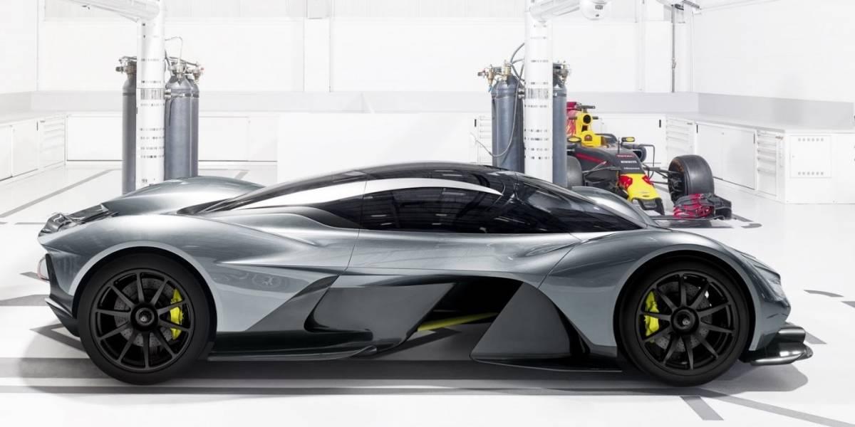 En tres años sale la competencia de Aston Martin al Ferrari 488