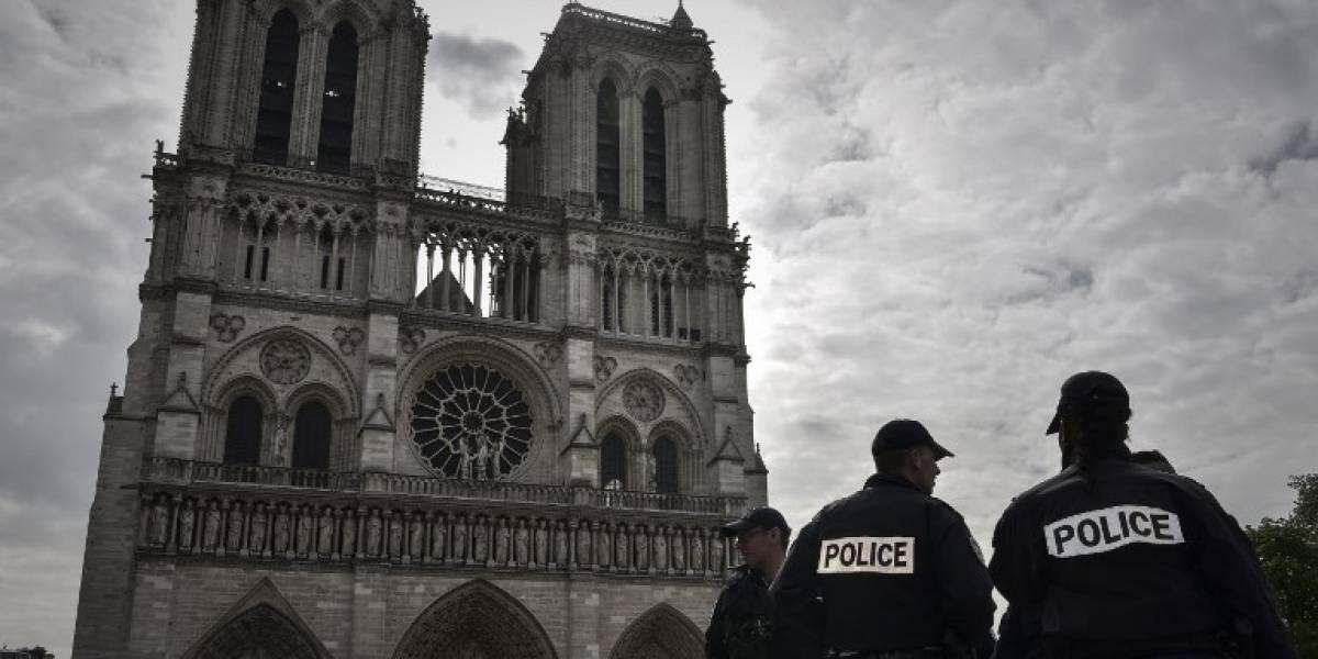 París en alerta por un incidente cerca de la catedral de Notre Dame