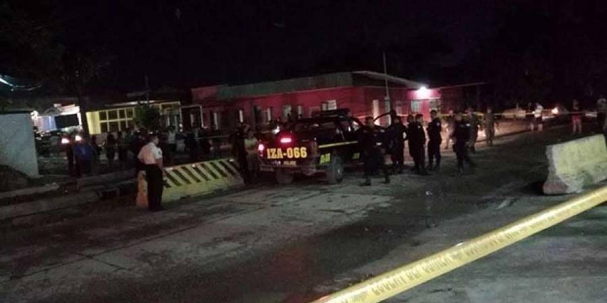 Un agente PNC muere tras balacera en Puerto Barrios