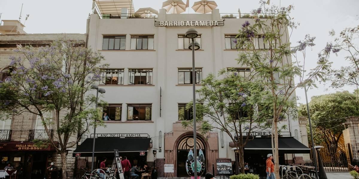 Barrio Alameda, en un viejo edificio se esconde un increíble centro comercial
